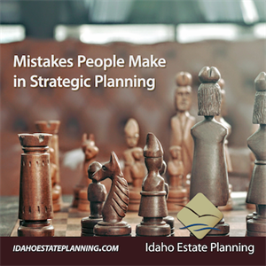 Top Mistakes People Make in Strategic Medicaid Planning