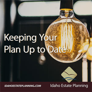 Keeping Your Plan Up to Date