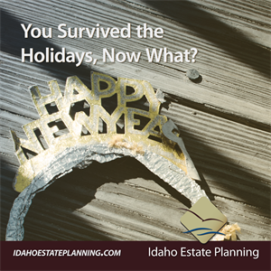 You Survived the Holidays, Now What?