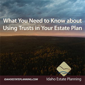 What You Need to Know about Using Trusts in Your Estate Plan