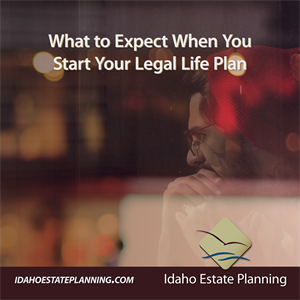 What to Expect When You Start Your Legal Life Plan