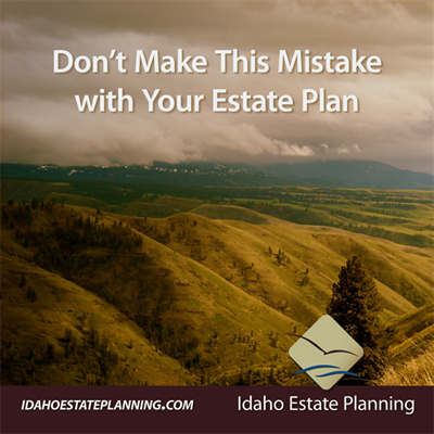 Don't Make This Mistake with Your Estate Plan