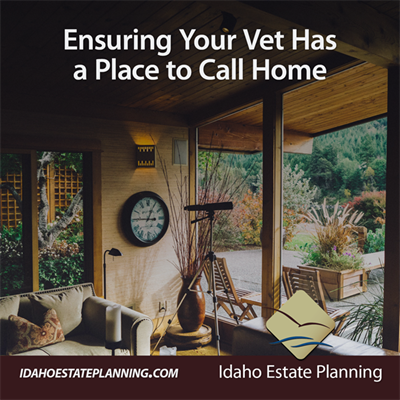 Ensuring Your Vet Has a Place to Call Home