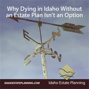 Why Dying in Idaho Without an Estate Plan Isn't an Option