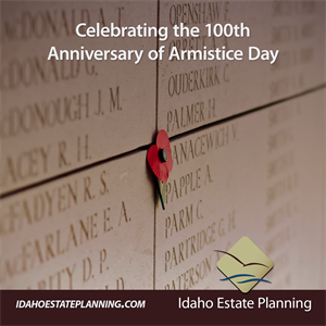 Celebrating the 100 Year Anniversary of Armistice Day