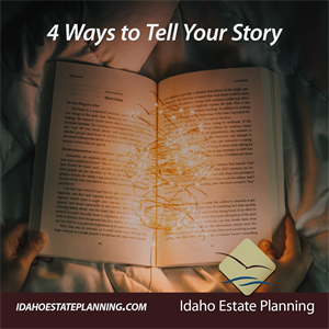 4 Ways to Tell Your Story