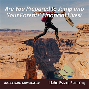 Are You Prepared to Jump Into Your Parents Financial Lives?